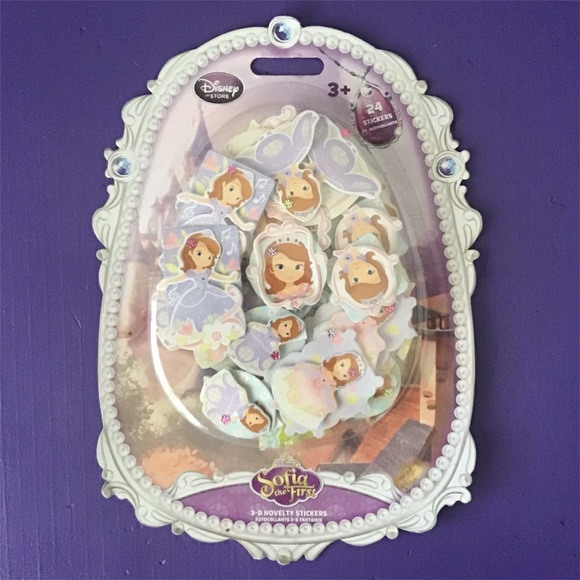 Sofia the First 3-D Stickers
